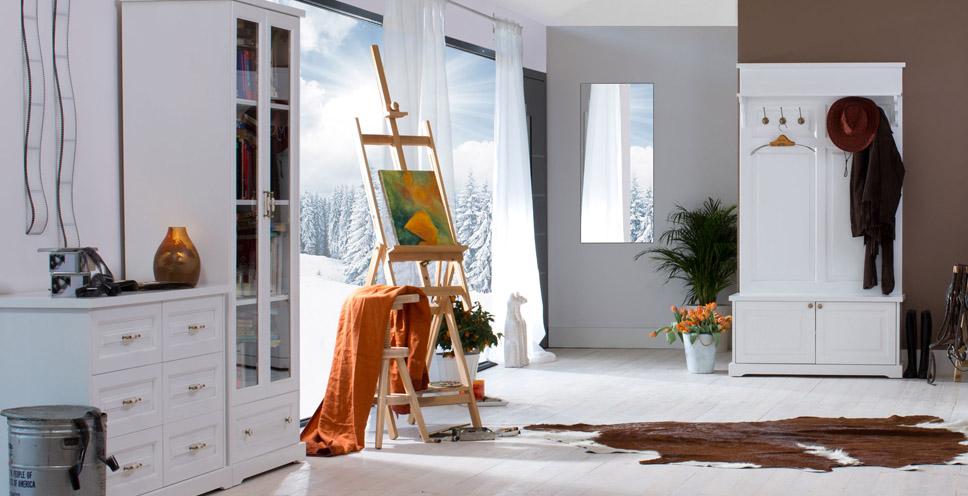 Dřevěný nábytek - kolekce Parma