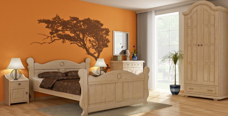 Dřevěný nábytek - kolekce Wenecja