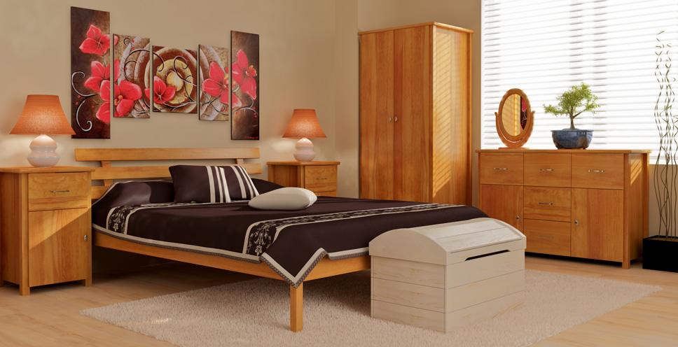 Dřevěný nábytek - kolekce Vega