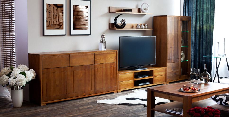 Dřevěný nábytek - kolekce Genua